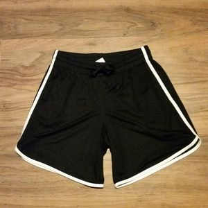 Black and white athletic shorts size small